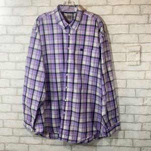 Cinch plaid button down shirt size XL